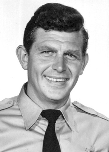 Portrait picture of Andy Griffith