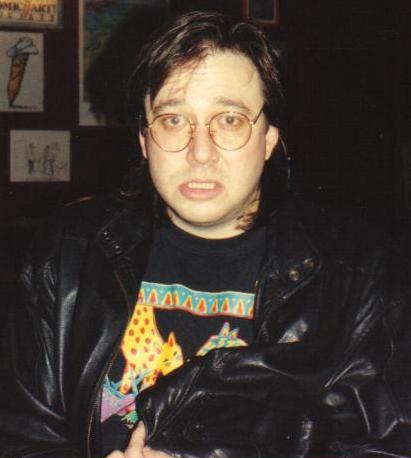 Portrait picture of Bill Hicks