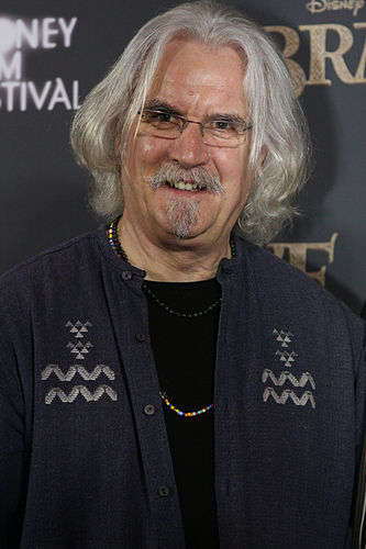 Portrait picture of Billy Connolly