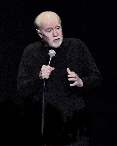 Portrait picture of George Carlin