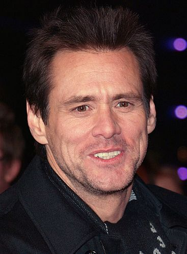 Portrait picture of Jim Carrey