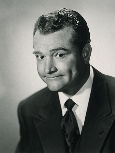 Portrait picture of Red Skelton