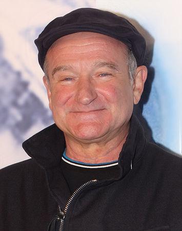 Portrait picture of Robin Williams