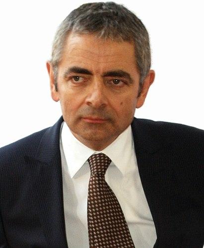 Portrait picture of Rowan Atkinson