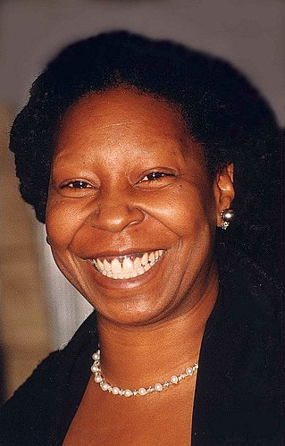 Portrait picture of Whoopi Goldberg